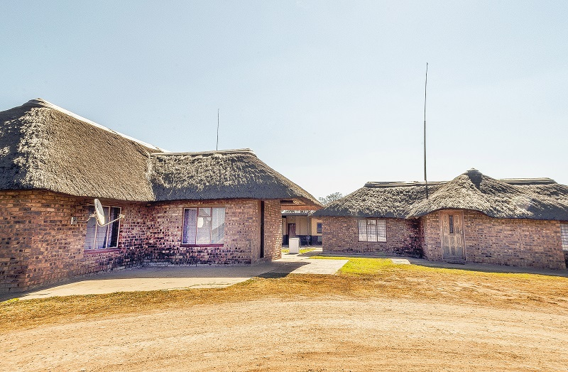 We have 2 of these thatch roof houses